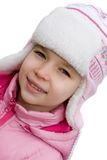 Pretty Winter Girl Royalty Free Stock Photo