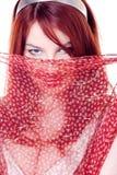 Pretty woman in arabic Stock Photo