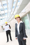 Pretty Woman Asian Architect Royalty Free Stock Photos