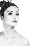 Pretty Woman. B&W Photography. Stock Images