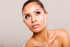 Pretty woman beauty Stock Images