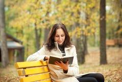 Pretty woman and book Stock Photo