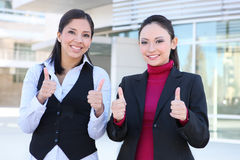 Pretty Woman Business Team Stock Images