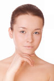 Pretty woman with clean skin Royalty Free Stock Images