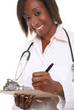 Pretty Woman Doctor Royalty Free Stock Images