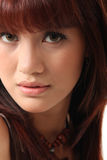 Pretty woman face Stock Image