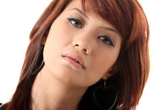 Pretty woman face Royalty Free Stock Image