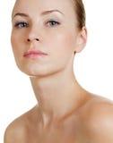 Pretty woman face Royalty Free Stock Photos
