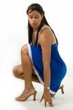 Pretty woman fashion stock photo