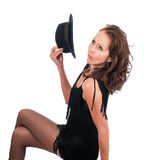 Pretty Woman Flapper Stock Image