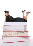 Pretty Woman Graduate Stock Photos