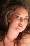 Pretty woman headshot Royalty Free Stock Photos