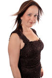 Pretty woman in her forties Royalty Free Stock Photos