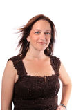 Pretty woman in her forties Stock Photography