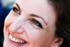 Pretty woman laughing Royalty Free Stock Images
