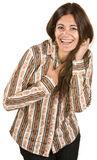 Pretty Woman Laughing Royalty Free Stock Photo