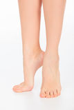 Pretty woman legs Stock Image