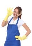 Pretty Woman Maid Stock Photos