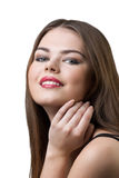 Pretty woman with make-up Stock Image