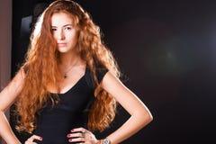 Pretty woman modeling Stock Photos