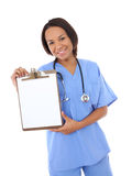 Pretty Woman Nurse Stock Photo