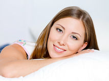 Pretty woman portrait Stock Photo