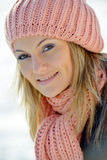 Pretty woman portrait outdoor Royalty Free Stock Image