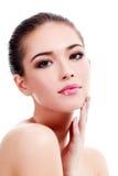 Pretty woman portrait Stock Images