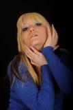 Pretty woman posing Royalty Free Stock Image