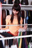Pretty woman shopping Stock Photos