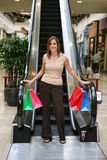 Pretty Woman Shopping Royalty Free Stock Photos