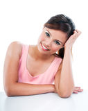 Pretty Woman Smiling Stock Photos