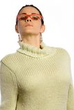 Pretty woman in sweater Royalty Free Stock Photography
