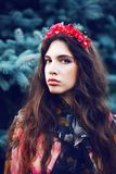 Pretty women in the garden Royalty Free Stock Photography