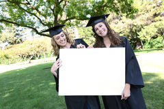 Pretty Women at Graduation Stock Images