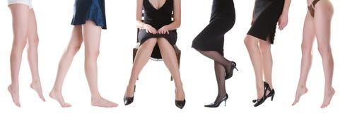Pretty women legs Royalty Free Stock Photos