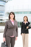 Pretty Women at the Office Royalty Free Stock Images
