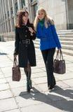 Pretty Women Walking Stock Photos