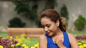 Attractive Female With Broken Heart. A pretty young adult female Royalty Free Stock Photos