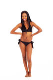 African woman bikini Royalty Free Stock Photography