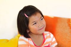 Pretty young Asian girl Stock Image