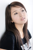 Pretty young Asian model Royalty Free Stock Photos
