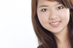 Pretty young Asian model royalty free stock photography