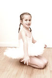 Pretty young ballerina Royalty Free Stock Image