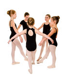 Pretty Young Ballerina Dancers Royalty Free Stock Photography