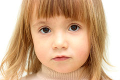 Pretty young blond girl Stock Photography