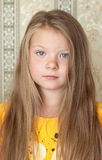 A pretty young blonde girl Royalty Free Stock Image