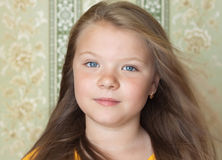 A pretty young blonde girl Royalty Free Stock Photography