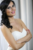 Pretty young bride Royalty Free Stock Photography