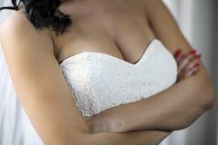 Pretty young bride Stock Photos